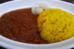 清水七夕トマトとナスと豚ひき肉のカレー-min