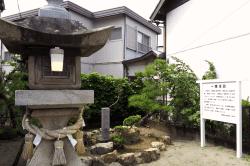 舞阪宿一里塚-min