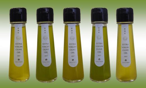 静岡産オリーブオイル5種500-min