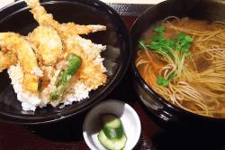 天丼蕎麦セット-min
