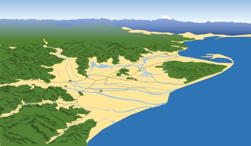 静岡鳥瞰図中世500-min