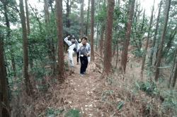 鏡岩尾根-min