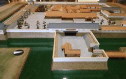 水口城復元模型-min