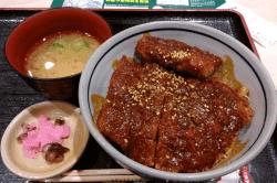 矢場とん味噌カツ丼-min