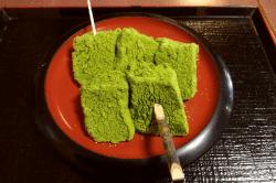 文の助茶屋抹茶わらび餅-min