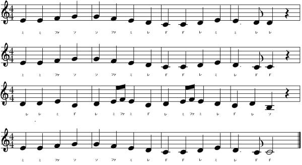 第九歓喜の歌ドレミ楽譜600-min
