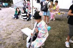 桔梗公園楽器体験190706-min