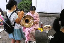 桔梗公園楽器体験190701-min