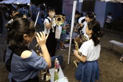 桔梗公園楽器体験190707-min
