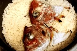真鯛炊き込み飯-min