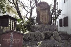 安倍川義夫の碑-min