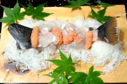 鮎の洗い-min